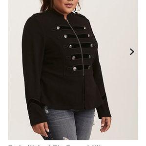 Nwt Torrid military jacket size 2